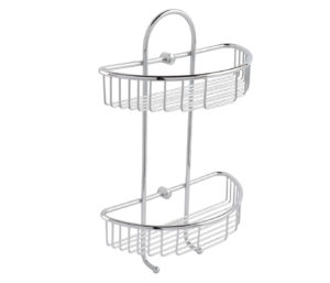 Twin Round Basket with Hooks