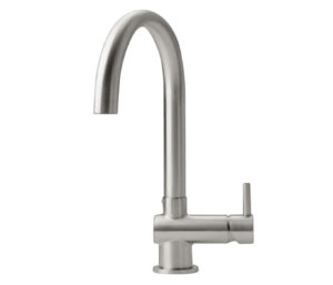Zecca Stainless Steel Sink Mixer