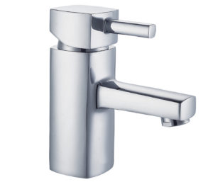 Milo Basin Mixer with Click Clack Waste