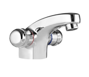 Vega Basin Mixer with Pop up Waste
