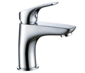 Rize Single Lever basin mixer without pop up waste
