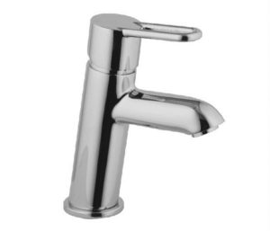 Nuvola Single Lever basin mixer without pop up waste