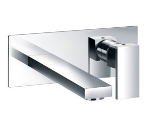Athena Wall Mounted Basin Mixer