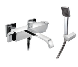 Leo Bath Shower Mixer with Kit