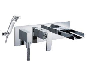 Cascata Bath Shower Mixer with Kit