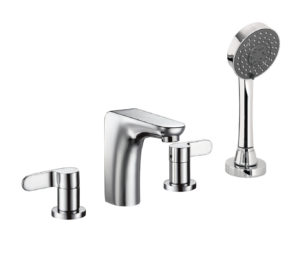 Vue 4 Hole Bath Shower Mixer