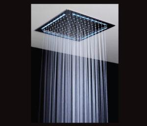 Square LED Rain Overhead Shower