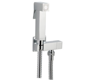 Square Douche Set with Angle Valve