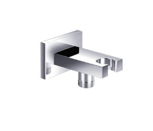 Square Wall Outlet with Holder