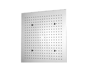 Aquamist square overhead shower with mist function