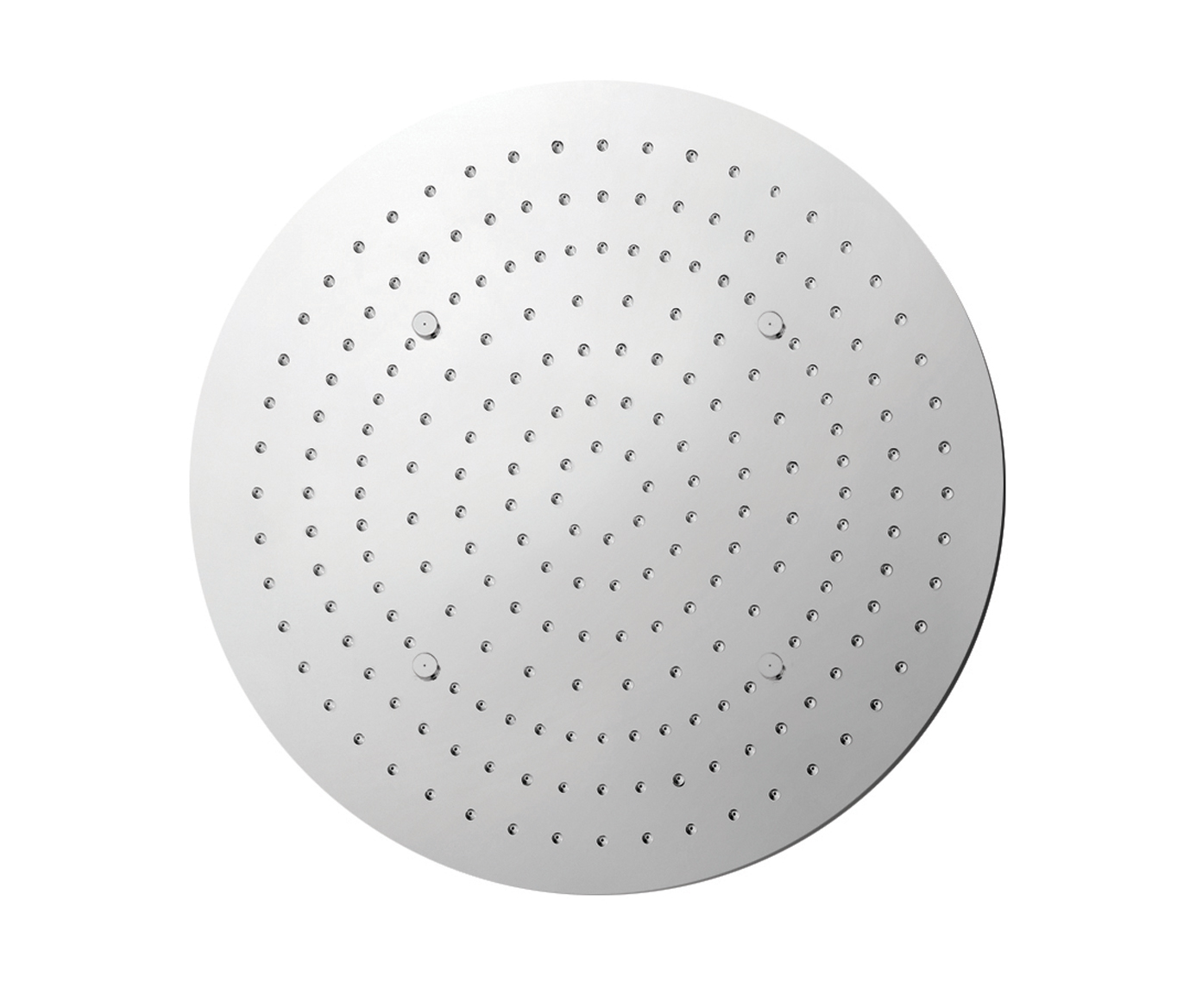 Aquamist round overhead shower with mist function