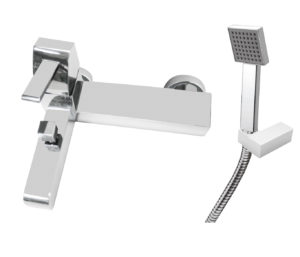 Carlo Bath Shower Mixer with Kit