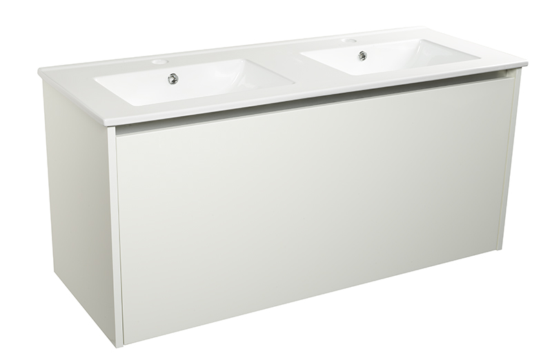 City 1200 Unit, internal draw, sensor, bottom light, white