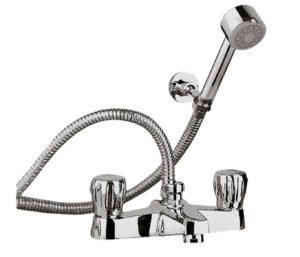 Continental Bath Shower Mixer with Kit