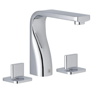 Curve 3 Hole Basin Mixer