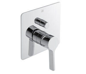 Curve Single Lever Concealed Diverter Valve
