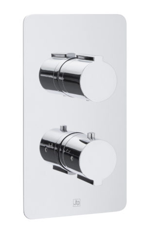 Curve Thermostatic Concealed 3 Outlet Shower Valve MP 0.5