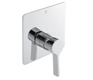 Curved Single Lever Concealed Manual Valve