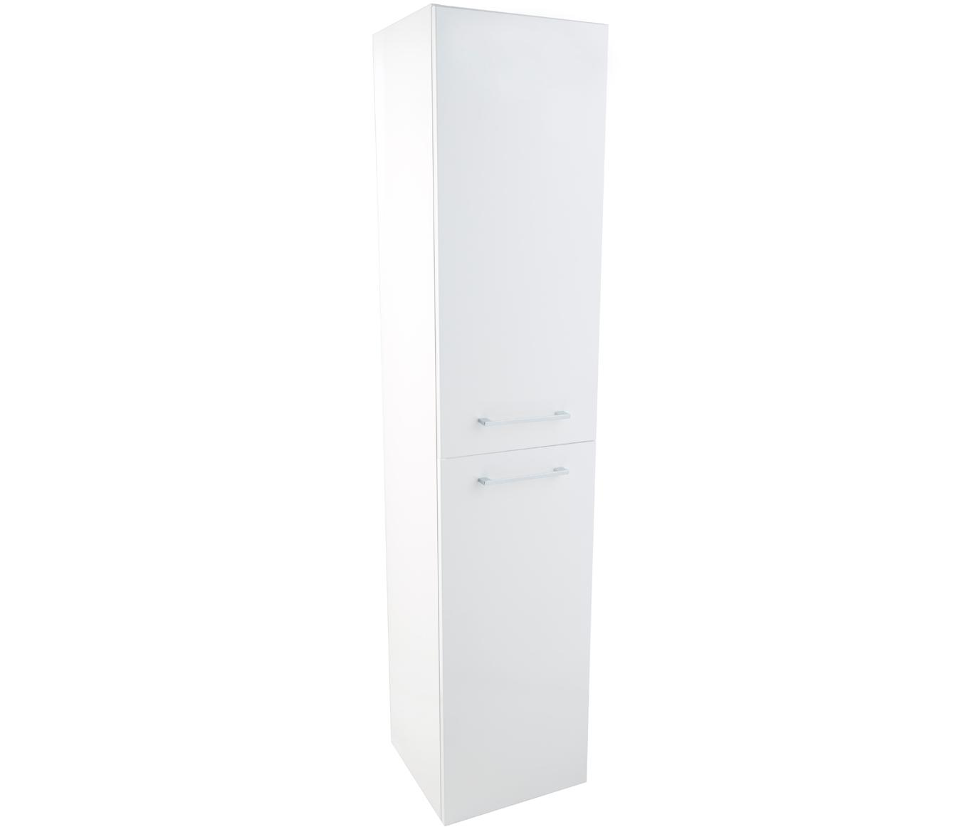 Double Door Side Cabinet - White