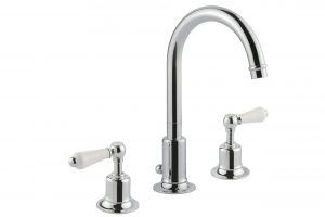 Grosvenor Lever 3 Hole Basin Mixer