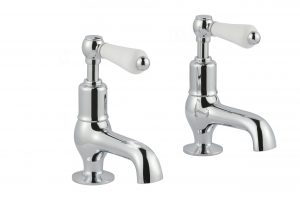 Grosvenor Lever Cloakroom Basin Taps
