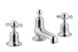 Grosvenor Pinch 3 Hole Deck Mounted Basin Mixer