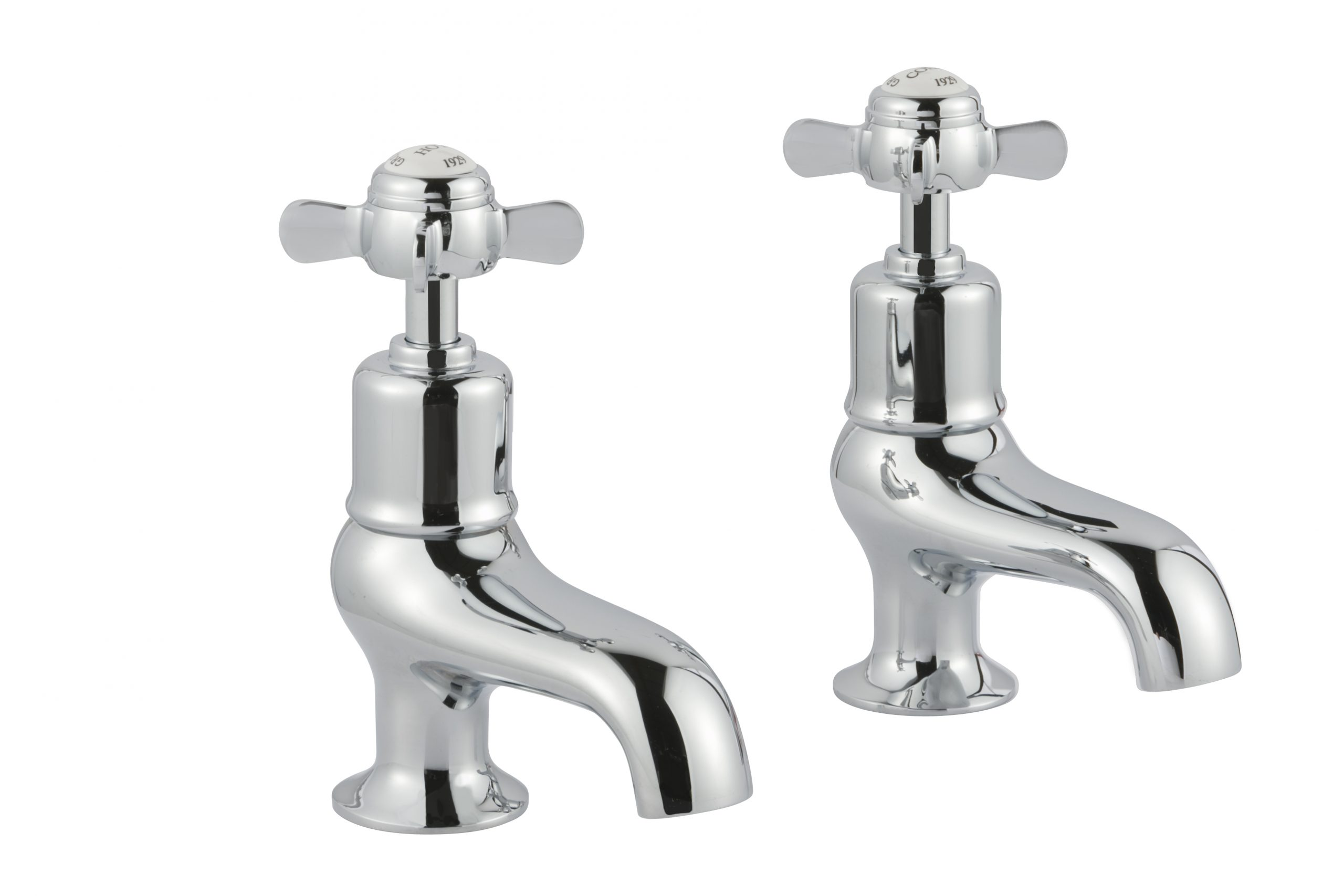 Grosvenor Pinch Bath Taps