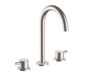 Inox Deck Mounted Basin Mixer