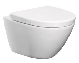 Lavavo Wall Hung Toilet Rimless, Including Toilet Seat
