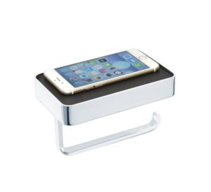 Mode Paper Holder With Mobile Phone Shelf