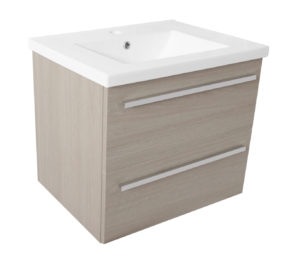 Pace 500 Wall Mounted Unit with Drawers and Basin - Grey