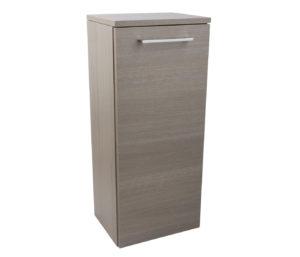 Single Door Side Cabinet - Grey