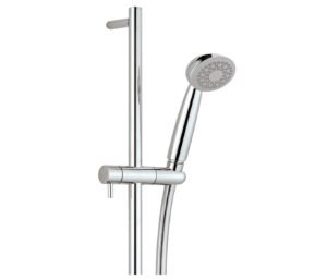 Slider Rail with Single Function Shower Head