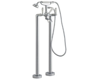 Sapphire Floor Standing Bath Shower Mixer with Kit
