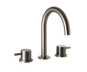 VOS 3 hole deck mounted basin mixer, MP 0.5