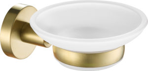 VOS brushed brass, soap dish