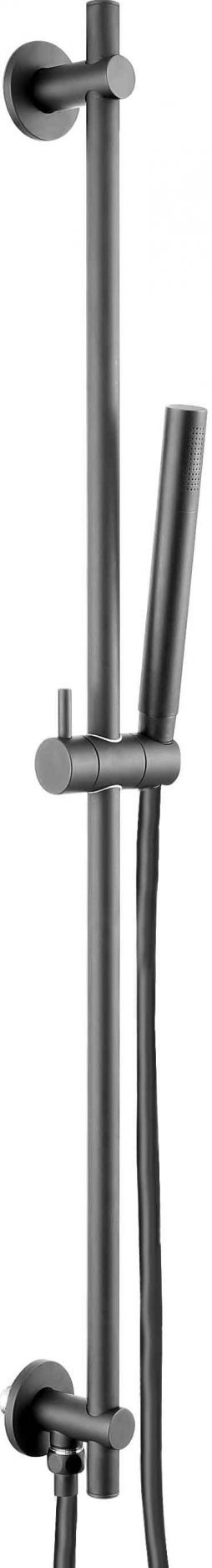 VOS slide rail with single function hand shower and hose, LP 0.2
