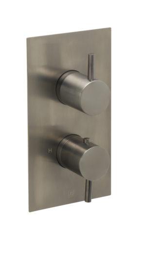 VOS thermostatic concealed 1 outlet shower valve, MP 0.5