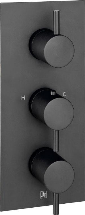 VOS thermostatic concealed 3 outlet shower valve MP 0.5 vertical