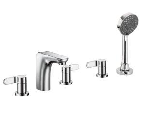 Vue 5 Hole Bath Shower Mixer